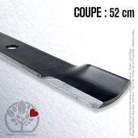 Lame pour John Deere M87622, AM100538, M141785, M74175. Coupe 52 cm