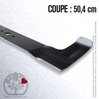 Lame pour Castel Garden 81004398/0. Coupe 50,4 cm