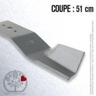 Lame pour Granja, Sorepco 510704. Coupe 51 cm