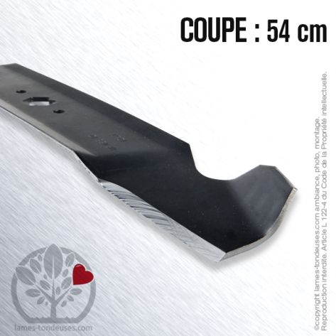 Lame tondeuse. Coupe 54 cm. MTD