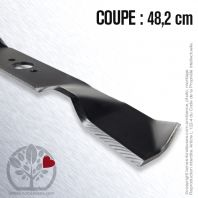 Lame pour Husqvarna, Electrolux 506 96 97.01. Coupe 48,2 cm