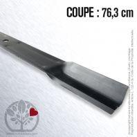 Lame tondeuse. Coupe 76,3 cm. John Deere