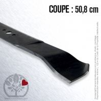 Lame. Coupe 50,8 cm. Section 57 x 3,5. Alèsage 16.