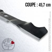 Lame tondeuse.  Coupe 45,7 cm. MTD