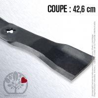 Lame pour Husqvarna, Electrolux 532 14 39-21.Roper 143921. Coupe 42,6 cm