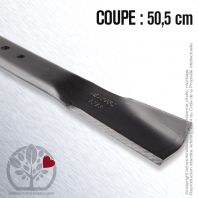 Lame tondeuse. Coupe 50,5 cm. MTD