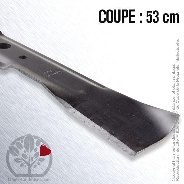 Lame tondeuse pour John Deere GX14SB M112972 coup