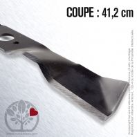 Lame pour Husqvarna, Electrolux 506 96 63-01. Coupe 41,2 cm