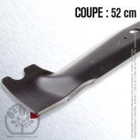 Lame pour Etesia MZ100D. MV100D, C24935C. Coupe 52 cm