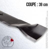 Lame pour Husqvarna, Electrolux, Roper 157033, 163819, 152443, 145708. Coupe 39 cm