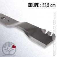 Lame pour Husqvarna, Electrolux 138498. Coupe 53,5 cm