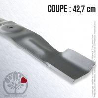 Lame pour Bernard Moteur 12800. Coupe 42,7 cm