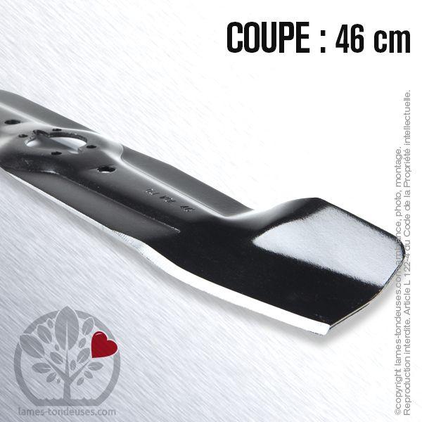 Pour Wolf Al Ergots 32,5 mm Lame tondeuse 46 cm