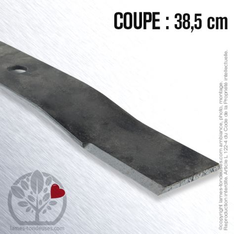 Lame tondeuse. Coupe 38,5 cm. Flymo