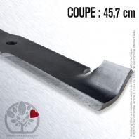Lame tondeuse Bobcat, Ransomes 32022A. Coupe 45,7 cm