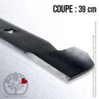 Lame pour Husqvarna, Electrolux, Roper 130652. Coupe 39 cm