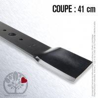 Lame. Coupe 41 cm. Section 55 x 4. Alèsage 18,5.