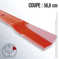 Lame pour Ariens 30328. Coupe 56,8 cm