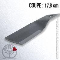 Lame pour BCS 56419783. Coupe 17,8 cm