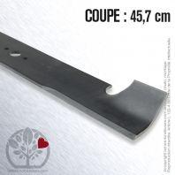 Lame pour Bobcat 32022A. Husqvarna, Electrolux 17037, 363055. Coupe 45,7 cm