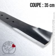 Lame pour Husqvarna, Electrolux  506 75 15-01, 531 00 50-10. Coupe 35 cm