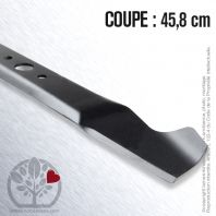 Lame tondeuse. Coupe 45,8 cm. MTD
