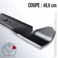 Lame tondeuse. Coupe 48,9 cm. MTD