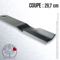 Lame tondeuse. Coupe 29,7 cm. MTD