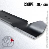 Lame tondeuse. Coupe 49,3 cm. MTD