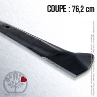 Lame tondeuse. Coupe 76,2 cm. MTD