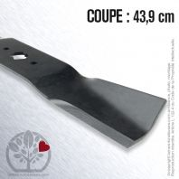 Lame tondeuse. Coupe 43,9 cm. MTD