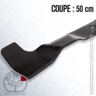Lame tondeuse. Coupe 50 cm. AYP 427985