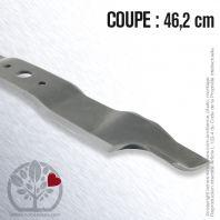 Lame pour Castel Garden, Honda 82004352/0. Coupe 46,2 cm