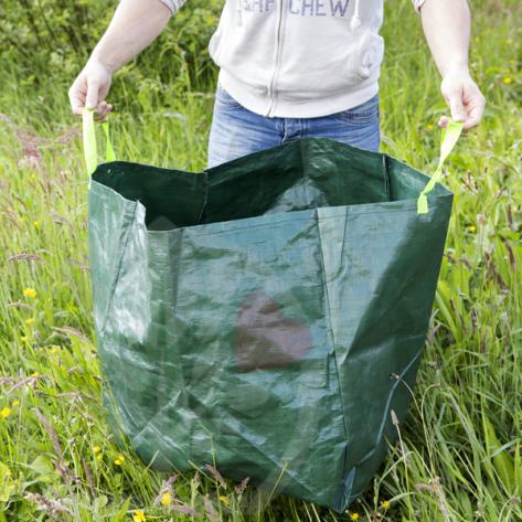 3 sacs plastique spécial déchets. Fibre renforcée
