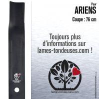 Lame pour Ariens 27287, 2728759. Coupe 76 cm