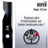 Lame pour Roper 173920, 180054. Coupe 42,5 cm