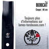 Lame pour Bobcat  112111-02, 32022A. Coupe 46 cm