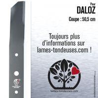 Lame pour Daloz 1907. Coupe 50,5 cm