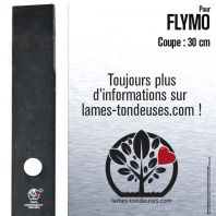 Lame pour Flymo 512655900. 513605601. Coupe 30 cm