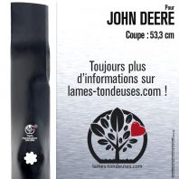Lame tondeuse. Coupe 53,3 cm. John Deere