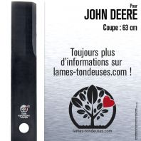 Lame tondeuse. Coupe 63 cm. John Deere