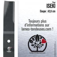 Lame Pour Iseki 8595306-002-00. Coupe 42,8 cm