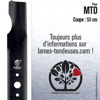 Lame tondeuse. Coupe 53 cm. MTD