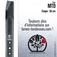Lame tondeuse. Coupe 56 cm. MTD