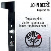 Lame tondeuse. Coupe 47 cm. John Deere M113518