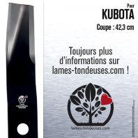 Lame tondeuse. Coupe 42,3 cm. Kubota