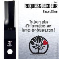 Lame tondeuse. Coupe 53 cm. Roques & Lecoeur