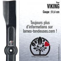 Lame tondeuse. Coupe 51,4 cm. Viking