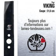 Lame tondeuse. Coupe 31,6 cm. Viking