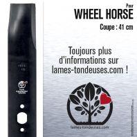 Lame tondeuse. Coupe 41 cm. Wheel Horse. Par 3